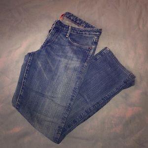 Earnest Sewn Straight Leg Stretch Jeans 27